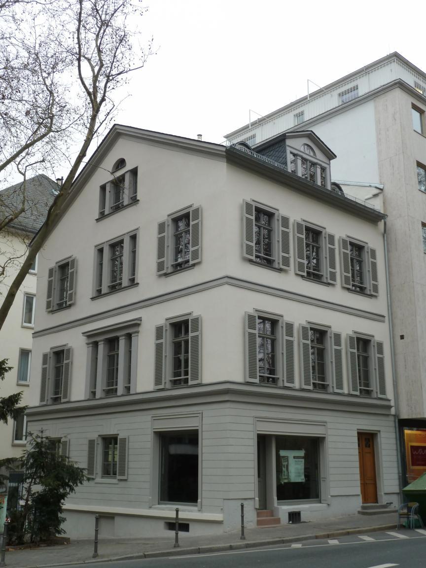 Klassizistisches b rgerhaus in der hochstr 27 frankfurt - Architekturburo frankfurt ...